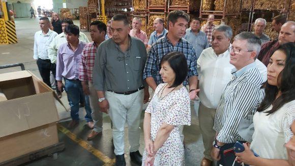 José Vilariño, responsable nacional del Fondo Especial del Tabaco visitó la Cooperativa de Productores Tabacaleros de Salta