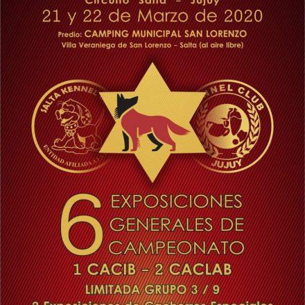 Expo Canina de nivel Internacional