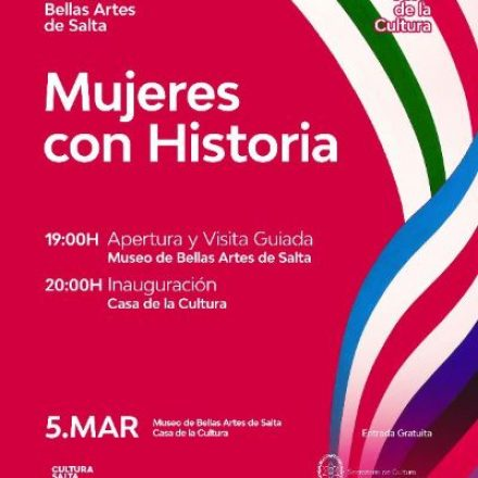 "Casa de la Cultura inaugura ""Mujeres con historia"""