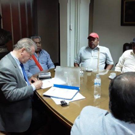 El vicegobernador Marocco recibió a referentes de comunidades originarias de Mosconi