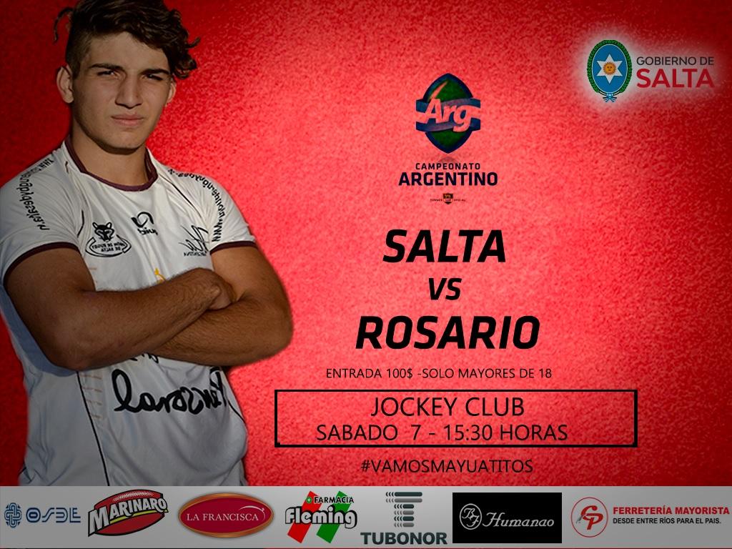 El M18 de Salta se presenta el sabado 7 en Jockey por la primer fecha del Argentino Juvenil 2020