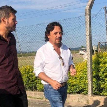 Tinelli en Santa Victoria: agradeció a Alberto, a Sáenz y a la gente