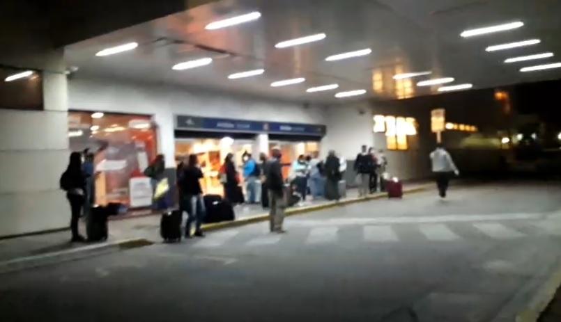 Se aplicó el protocolo de seguridad sanitaria a repatriados de un vuelo proveniente de Panamá
