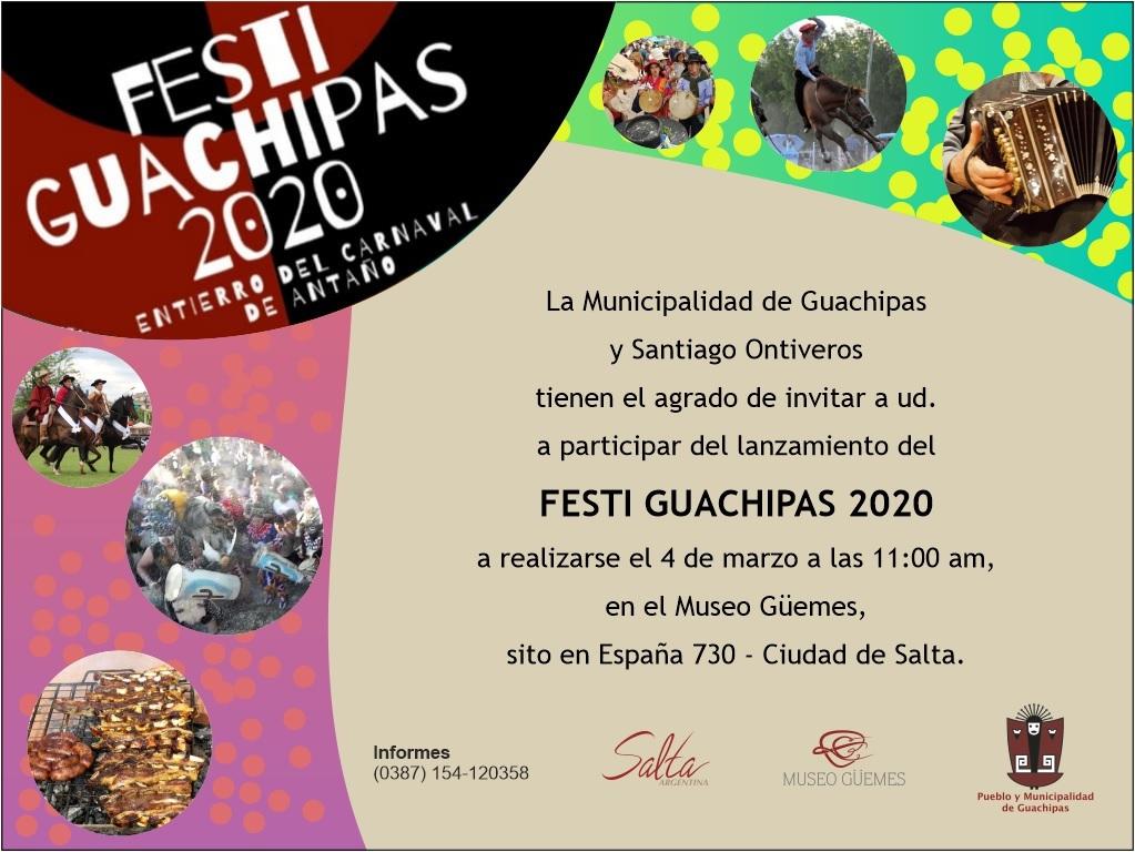 Presentación del Festi Guachipas 2020