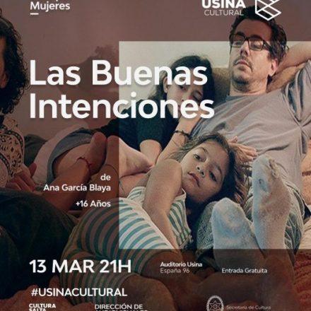 Continúa el ciclo Cine por Mujeres en la Usina Cultural con entrada gratuita