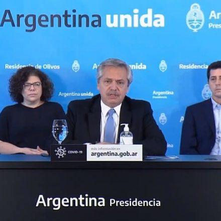 El Presidente anunció la extensión del Aislamiento Social y Obligatorio hasta el 10 de mayo