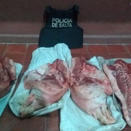 En diversos procedimientos secuestraron carne que eran transportadas sin las medidas de higiene recomendadas