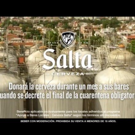 Cerveza Salta acompañará la recuperación económica de más de 100 bares y peñas