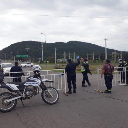 Fin de semana largo: mayores controles de seguridad en las distintas localidades para evitar incumplimientos al aislamiento obligatorio