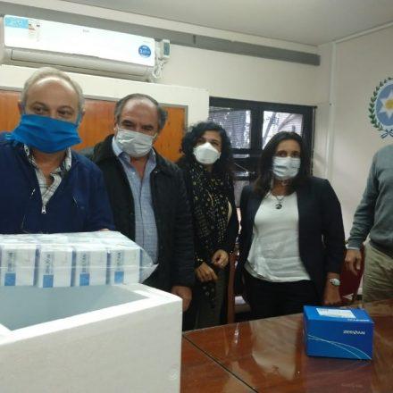 Fundaciones Chinas donaron a la Provincia reactivos para COVID-19