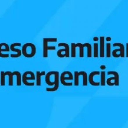 Hoy podrán elegir el medio de pago los beneficiarios del Ingreso Familiar de Emergencia con su DNI terminados en  8 y 9