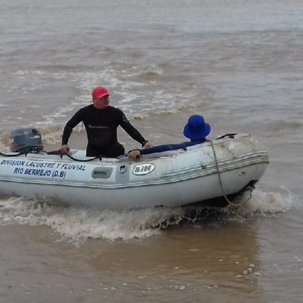 Recuperaron el cuerpo sin vida de un pescador en el rio Bermejo