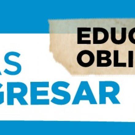 BECAS PROGRESAR: prórroga hasta 30 días despúes de la cuarentena la inscripción para su línea «Finalización» de la Educación Obligatoria»