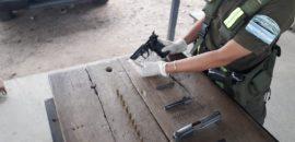 Detienen a un hombre que poseía un arma de fuego sin el aval legal