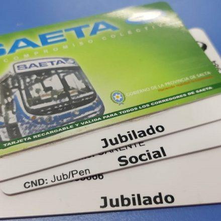 SAETA prorrogó el vencimiento de las tarjetas con beneficios
