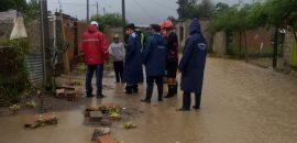 Se realizaron distintas tareas de asistencia por las lluvias