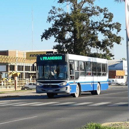 Como será el servicio de transporte urbano para el 1º de mayo