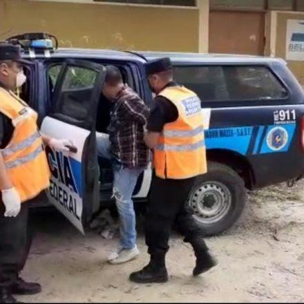 En coordinación entre Policía Federal y Gendarmería, se detuvo a un importante traficante de drogas ilegales