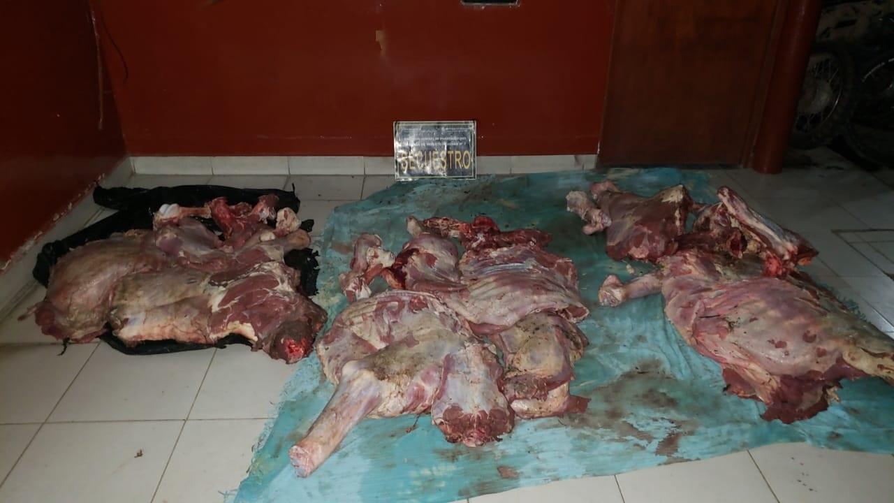 Decomisaron más de 200 kilos de carne no aptas para el consumo humano