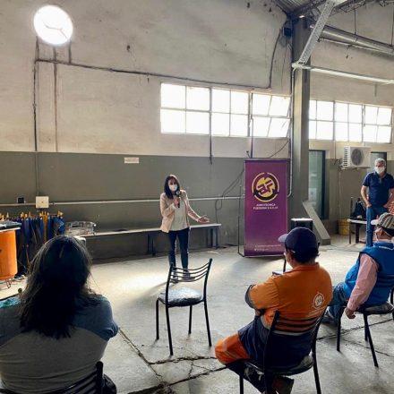 Ciclo de charlas preventivas sobre COVID19 en Agrotécnica Fueguina