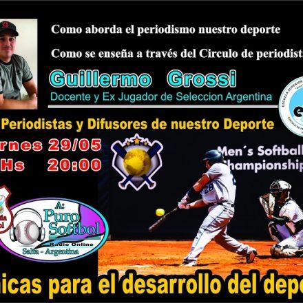 Por Facebook: Clínica de Softbol para Periodistas desde Salta