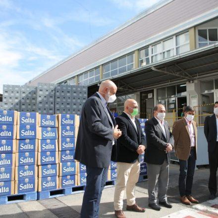 Cerveza Salta donó  alimentos a distintos sectores de la ciudad afectados por el COVID-19