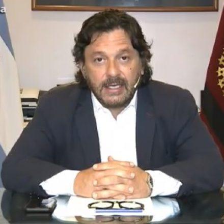 Saenz: «a partir de mañana se reabren los comercios»