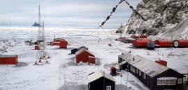 Marino salteño de Mosconi invernando en la Antártida