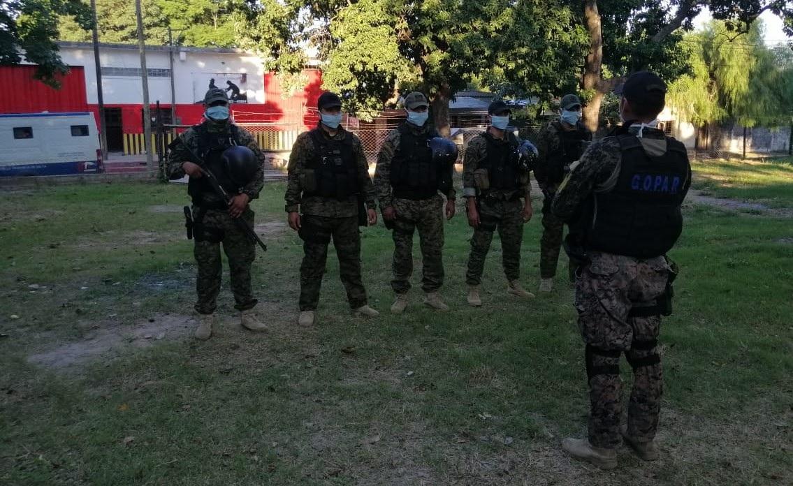 Unidades Especiales de la Policía Provincial refuerzan los controles en localidades fronterizas