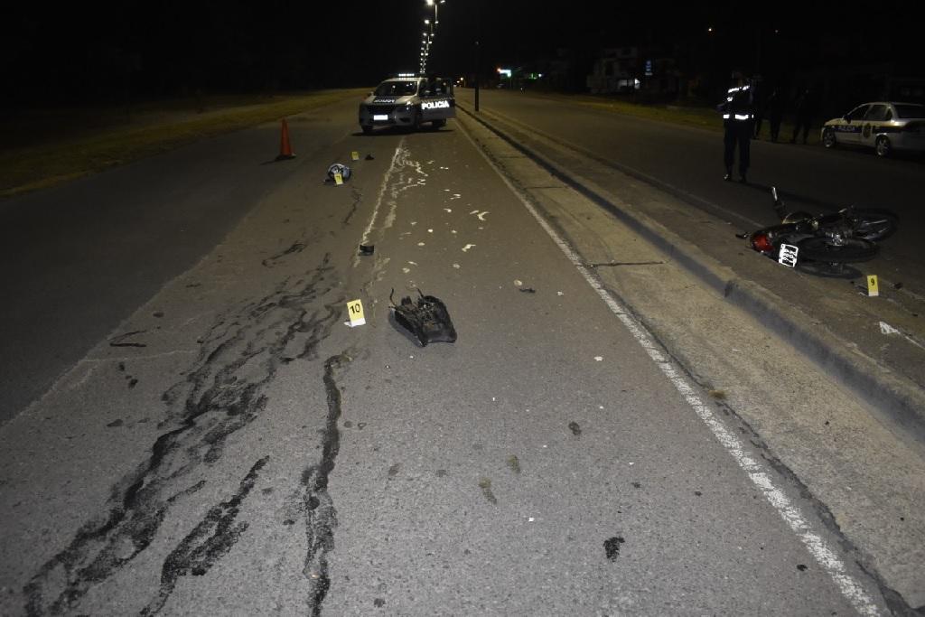 Siniestro vial con víctima fatal en zona oeste de la ciudad Capital