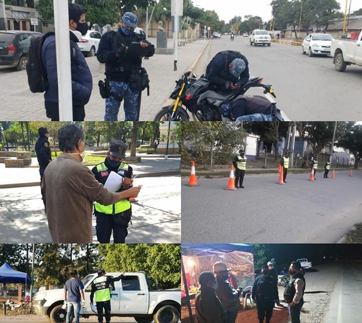 Departamento de Orán: se extremaron los controles en los distintos municipios, en la zona de frontera con Bolivia y se suspenden temporalmente las visitas a las Unidades Carcelarias