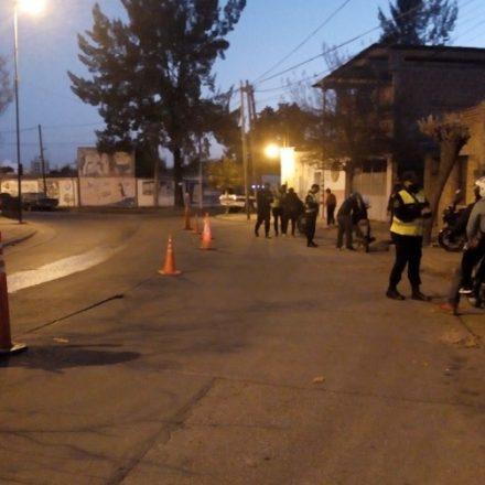 Continúan los operativos en barrios de la Capital por seguridad y dar cumplimiento a las normas sanitarias del COVID – 19