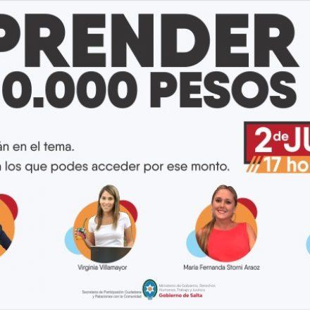 Capacitación virtual y gratuita: como emprender con 10 mil pesos o menos