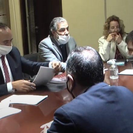 Firmaron un Convenio para que en la localidad de Apolinario Saravia se establezca una sucursal del banco Macro