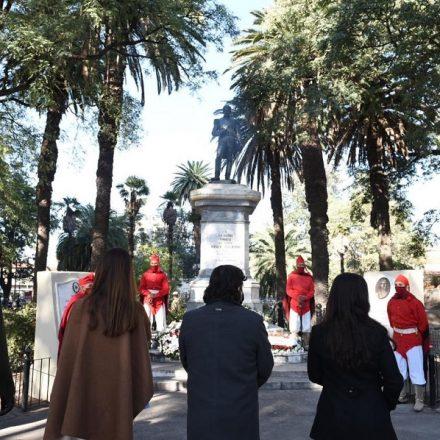 El gobernador presidió los actos conmemorativos por el Día de la Bandera