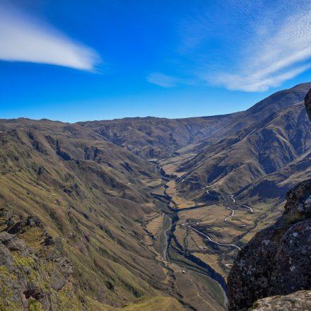 De Trekking al cerro Torreón, al pie de la cuesta del obispo