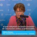 Desde hoy ya no se utilizará más la vacuna oral Sabin contra la poliomielitis