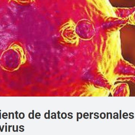 Coronavirus y los datos sensibles: el MPF recuerda la vigencia de la ley de Protección de Datos Personales