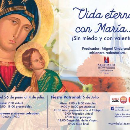 La procesión de la Fiesta del Perpetuo Socorro será virtual