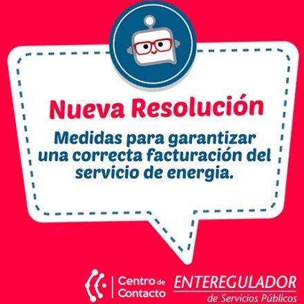 EDESA debe tomar medidas tendientes a garantizar una correcta facturación del servicio de energía