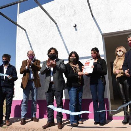 El gobernador lanzó el Plan Provincial de Urbanización Social y Regularización Dominial, MI Lote, para familias con mayor vulnerabilidad social