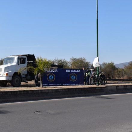 Siniestro vial con víctima fatal sobre Avenida Arenales de la Capital