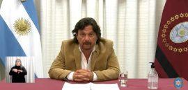Saenz anunció las nuevas disposiciones en relación al COVID-19