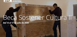 Implementan becas Sostener Cultura II para la comunidad cultural y artística