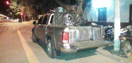 Incautan gran cantidad de hojas de coca y cigarrillos que iban en dos camionetas