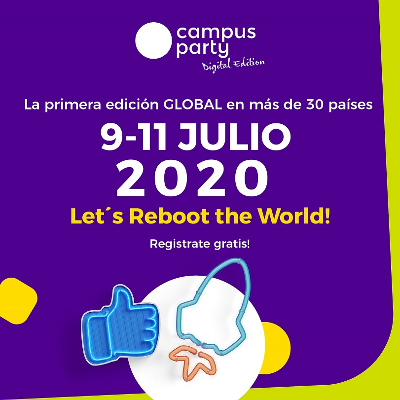 Querés saber de tecnología?: Campus Party regresa a la Argentina con una nueva edición digital, global y gratuita