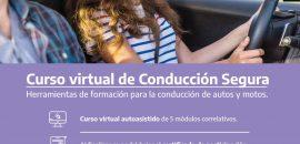 Capacitación virtual de conducción segura para todo el país