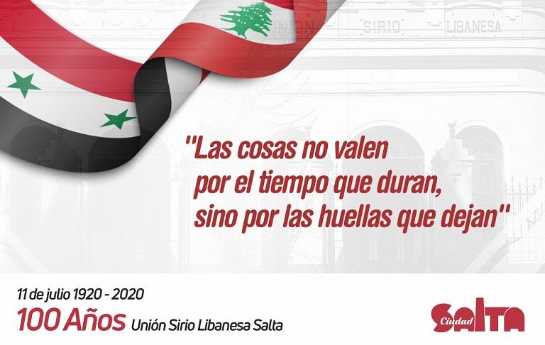 Conmemorarán el centenario de la Fundación de la Unión Sirio Libanesa en Salta