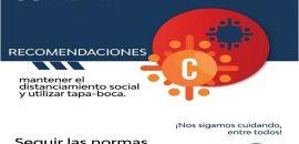 Reporte Provincial de casos de coronavirus del día sábado 8 de agosto