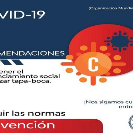 Reporte Provincial de casos de coronavirus del día viernes 31 de julio